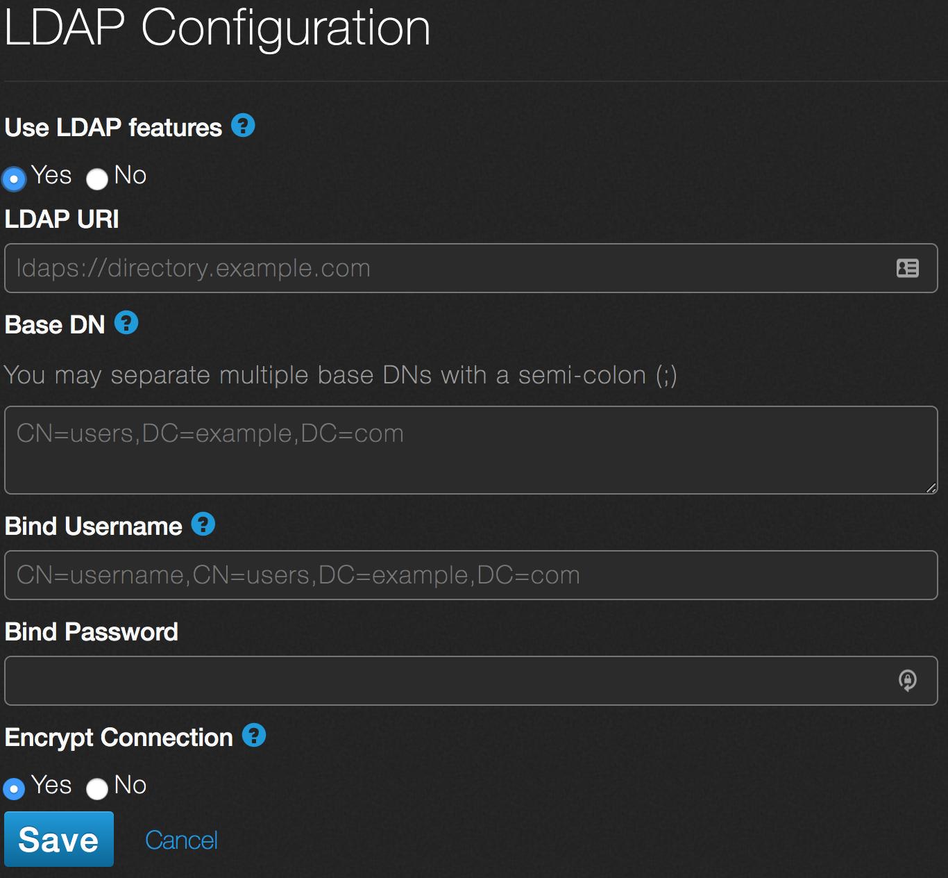 Use LDAP in Qumulo Core – Qumulo Care